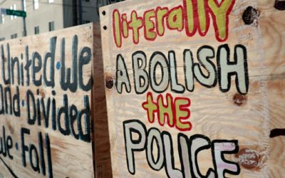 A Prisoner's View of Defunding Police and Prison Abolition