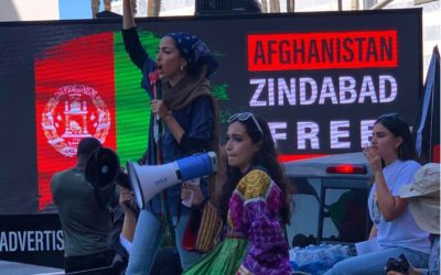 Afghan Solidarity Demonstration in Los Angeles